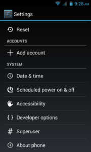 GDF-settings